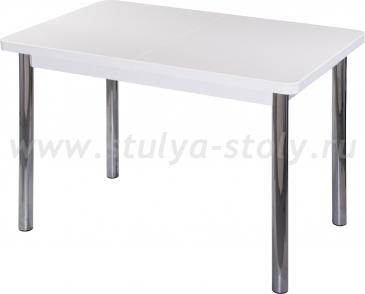 Стол обеденный Реал ПР-1 КМ 04 (6) БЛ 02 белый