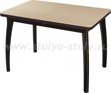 Стол обеденный Реал ПР-1 КМ 06 (6) ВН 07 ВП ВН (венге песочный камень)