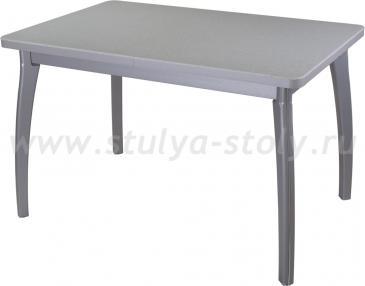 Стол обеденный Реал ПР-1 КМ 07 (6) СР 07 ВП СР серый