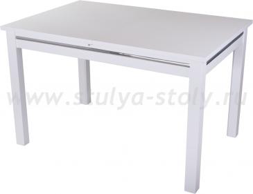 Стол обеденный Сигма-1 БЛ 08 БЛ белый