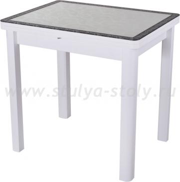 Стол обеденный Чинзано М-2 БЛ ст-34 Д0 04БЛ белый