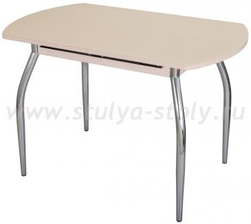 Стол обеденный Чинзано ПО-1 МД ст-КР 01 молочный дуб