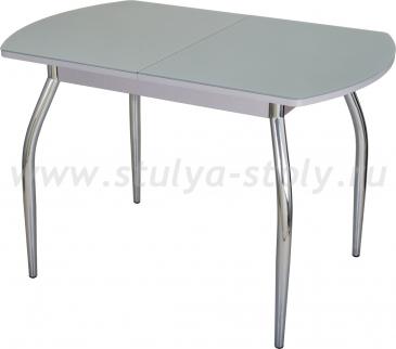 Стол обеденный Чинзано ПО-1 СР ст-СР 01 серый