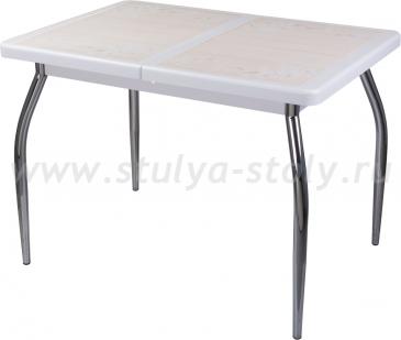 Стол обеденный Шарди ПР ВП БЛ 01 пл42 (белый)