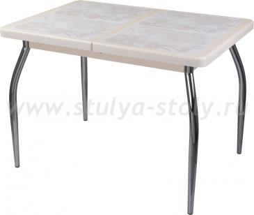 Стол обеденный Шарди ПР ВП КР 01 пл32 (кремовый)