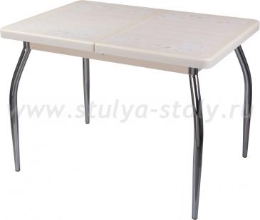 Стол обеденный Шарди ПР ВП КР 01 пл42 (кремовый)
