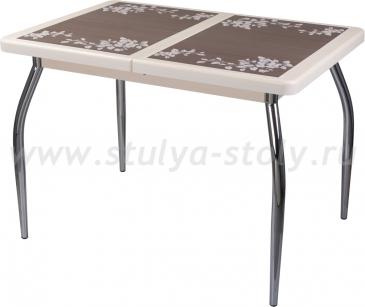 Стол обеденный Шарди ПР ВП КР 01 пл44 (кремовый)