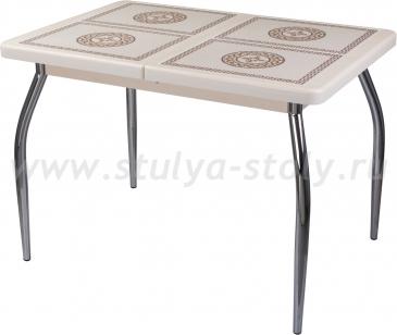 Стол обеденный Шарди ПР ВП КР 01 пл52 (кремовый)