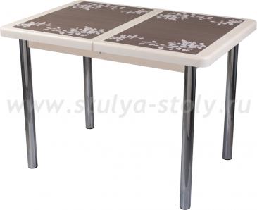 Стол обеденный Шарди ПР ВП КР 02 пл44 (кремовый)