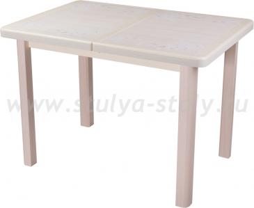 Стол обеденный Шарди ПР ВП КР 04 МД пл42 (кремовый)