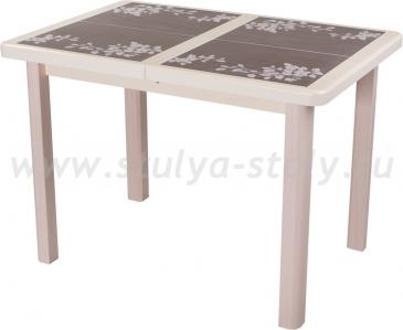 Стол обеденный Шарди ПР ВП КР 04 МД пл44 (кремовый)