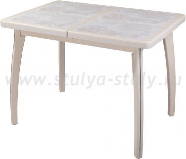 Стол обеденный Шарди ПР ВП КР 07 ВП КР пл32 (кремовый)