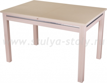Стол обеденный Бета КМ 06(6) МД 08МД (молочный дуб)