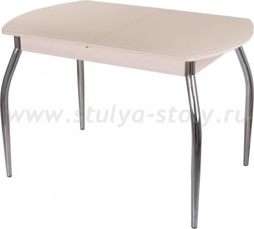 Стол обеденный Гамма ПО-1 МД ст-КР 01 молочный дуб