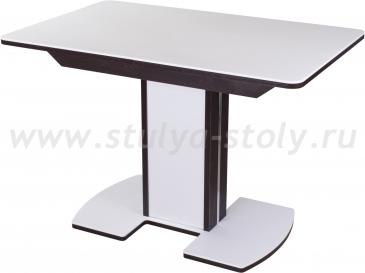 Стол обеденный Альфа ПР-1 КМ 04 (6) ВН 05-1 ЛДСП ВН/БЛ КМ 04 венге