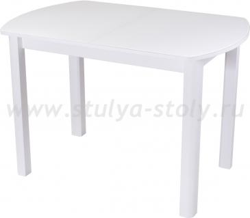 Стол обеденный Гамма ПО-1 БЛ ст-БЛ 04 БЛ (белый)