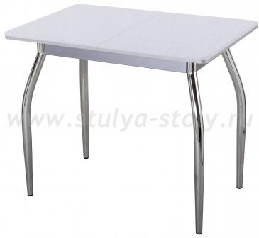 Стол кухонный Реал М КМ 07 (6) СР 01 серый