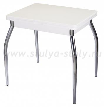 Стол кухонный Реал М-2 КМ 04 (6) БЛ 01 белый