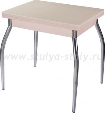 Стол кухонный Реал М-2 КМ 06 (6) МД 01 молочный дуб