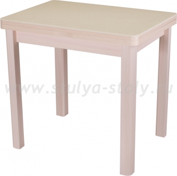 Стол кухонный Реал М-2 КМ 06 (6) МД 04 МД молочный дуб