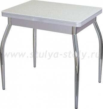 Стол кухонный Реал М-2 КМ 07 (6) СР 01 серый