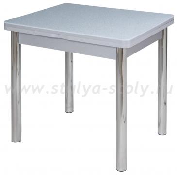 Стол кухонный Реал М-2 КМ 07 (6) СР 02 серый