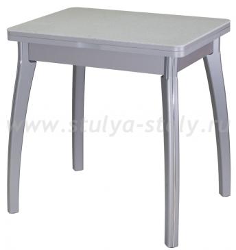 Стол кухонный Реал М-2 КМ 07 (6) СР 07 ВП СР серый