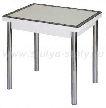 Стол кухонный Чинзано М-2 БЛ ст-34 Д-0 02 белый