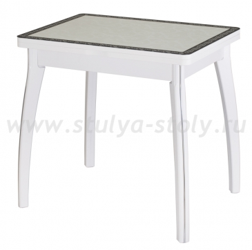 Стол кухонный Чинзано М-2 БЛ ст-34 Д-0 07 ВП БЛ белый