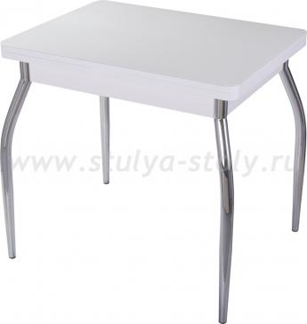 Стол кухонный Чинзано М-2 БЛ ст-БЛ 01 (белый)
