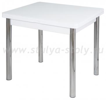 Стол кухонный Чинзано М-2 БЛ ст-БЛ 02 (белый)