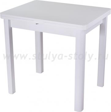 Стол кухонный Чинзано М-2 БЛ ст-БЛ 04 БЛ (белый)