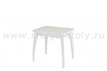 Стол кухонный Чинзано М-2 БЛ ст-БЛ 07 ВП БЛ (белый)