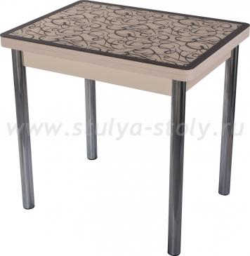 Стол кухонный Чинзано М-2 МД ст-2 ВН/КР 02 (венге с узором)