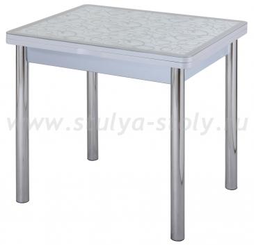 Стол кухонный Чинзано М-2 СР ст-2 СР/БЛ 02 серый