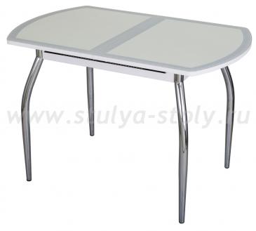 Стол кухонный Чинзано ПО БЛ ст-23 F-0 01 белый