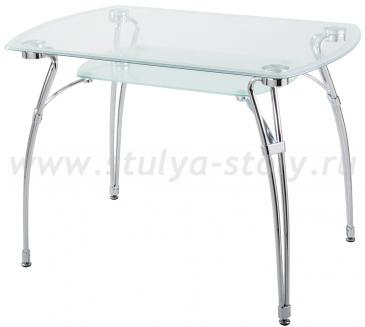 Стеклянный кухонный стол А7С (прозрачный)