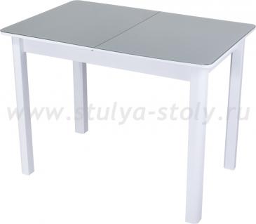 Стол кухонный Гамма ПР М БЛ ст-СР 04 БЛ белый