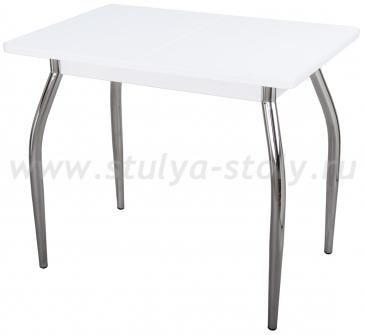 Стол кухонный Реал М КМ 04 (6) БЛ 01 (белый)