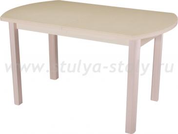 Стол кухонный Реал ПО КМ 06 (6) КР 04 МД крем