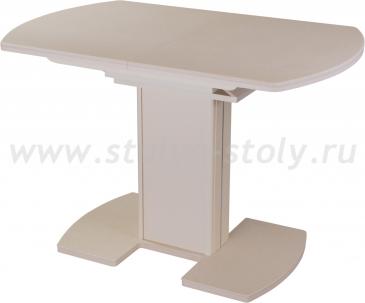 Стол кухонный Реал ПО КМ 06 (6) МД 05 ВП КР/КР КМ 06 молочный дуб
