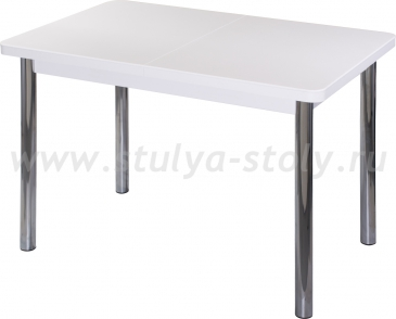 Стол кухонный Реал ПР КМ 04 (6) БЛ 02 белый