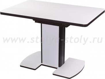 Стол кухонный Реал ПР КМ 04 (6) ВН 05 ВП ВН/БЛ КМ 04 венге