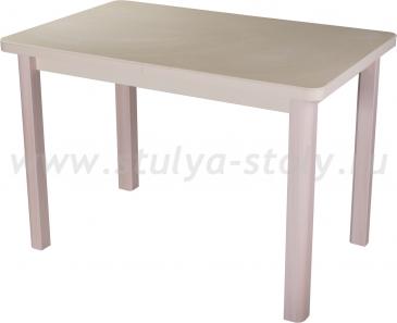 Стол кухонный Реал ПР КМ 06 (6) КР 04 МД крем