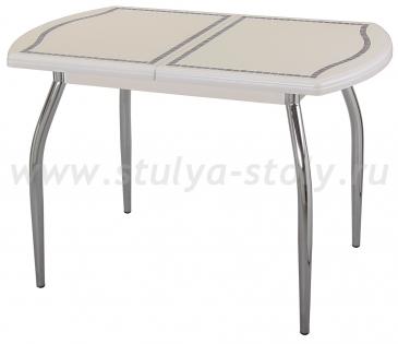 Стол кухонный Толедо ПО МЗ 36 ВП КР 01 крем