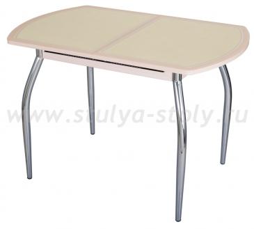 Стол кухонный Чинзано ПО МД ст-11 Д-2 01 молочный дуб