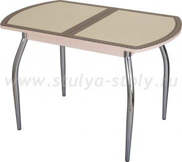 Стол кухонный Чинзано ПО МД ст-22 F-1 01 молочный дуб