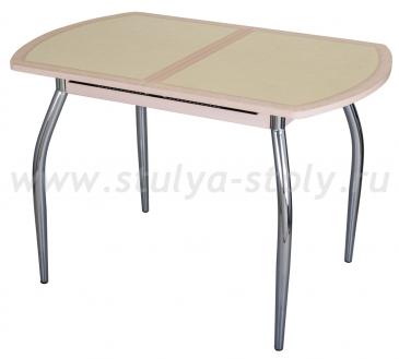 Стол кухонный Чинзано ПО МД ст-31 Д-2 01 молочный дуб