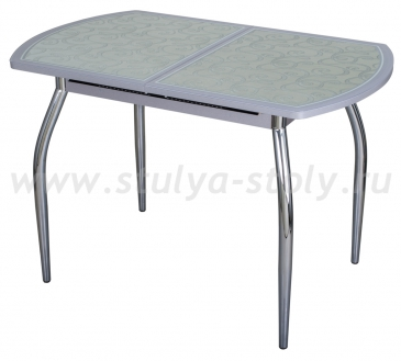 Стол кухонный Чинзано ПО СР ст-13 Д-1 01 серый
