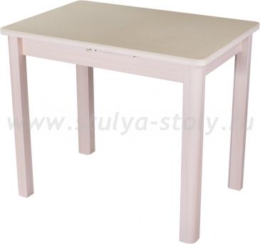 Стол кухонный Альфа ПР-М КМ 06 (6) МД 04 МД молочный дуб